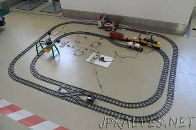 Arduino and LEGO Train