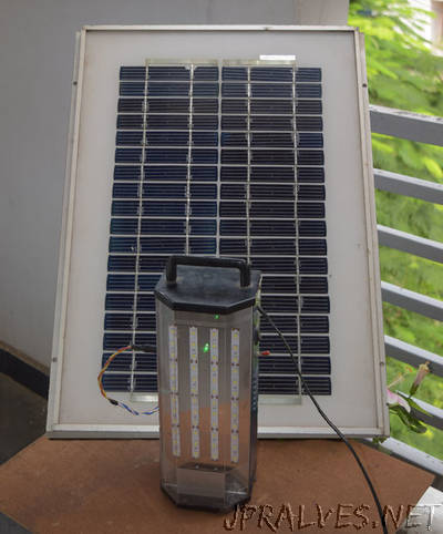 Solar LED Rechargeable Emergency Light