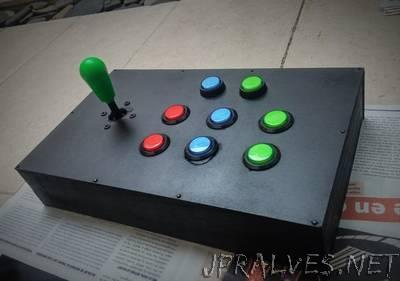 Arcade Control Arduino UNO