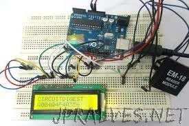 RFID interfacing with Arduino