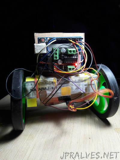 Two Wheel Balanced Robot_PID