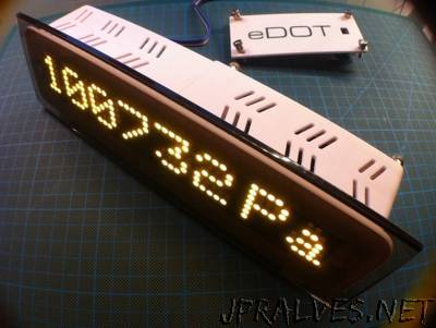 eDOT - Arduino Based Precision Clock and Weather Station