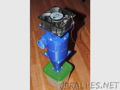 12V mini cyclone vacuum cleaner