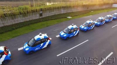 Baidu's self-driving cars begin public test in Wuzhen, China
