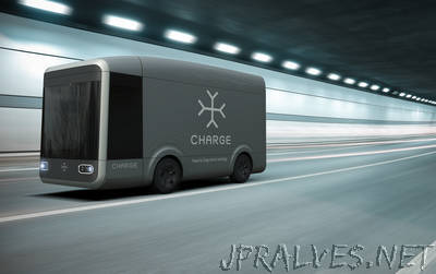 Delivering in your city from 2017 british auto tech company charge reveals new electric truck