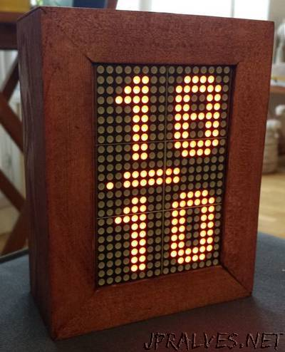 Led Matrix Arduino Clock