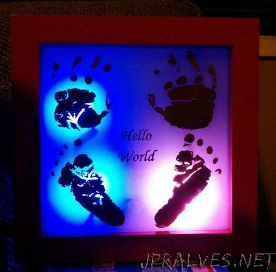 LED Interactive Copper Etching