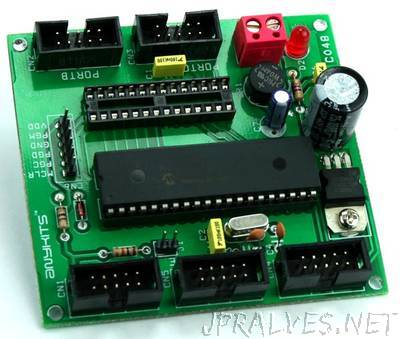PIC16F 28/40 Pin Development Board