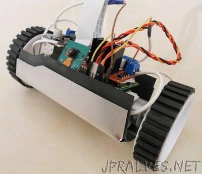 Raspberry Pi Surveillance Rover (Land Drone)