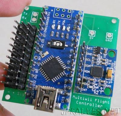 Custom Multicopter Flight Controller