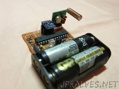 Make own remote temperature/humidity sensor
