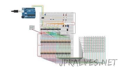 10x10 RGB Led Matrix