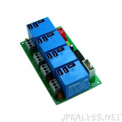 4 Channel Large Current Relay Board