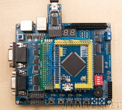 A fast µC to FPGA bus