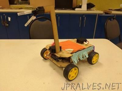 Mario Kart Robot