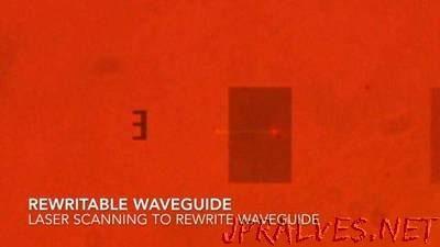 New material could lead to erasable and rewriteable optical chips