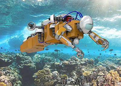 Deep sea coral reefs more accessible with touch-sensitive underwater robotic platform