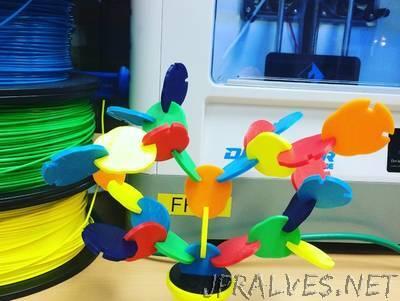 Colorfull tree puzzel