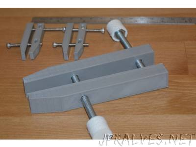 Customizable Tool Maker's Clamps