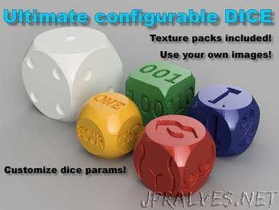 Ultimate configurable dice