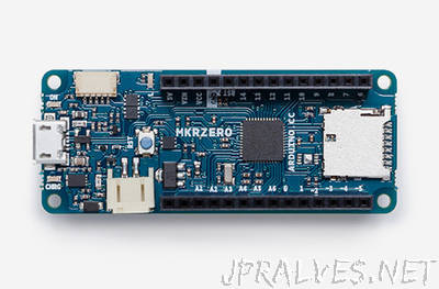 Meet the new MKRZERO, the power of the ZERO in a smaller board!