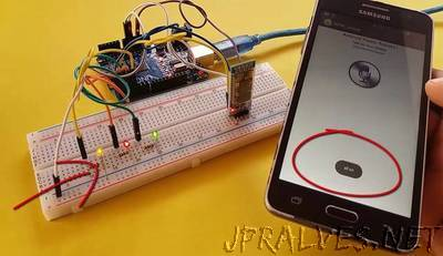 Arduino Control With Android Voice Command (via Bluetooth)