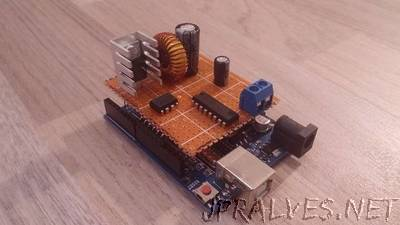 Arduino-controlled True Switching Regulators