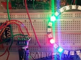 ESP8266 Neopixel Ring Clock