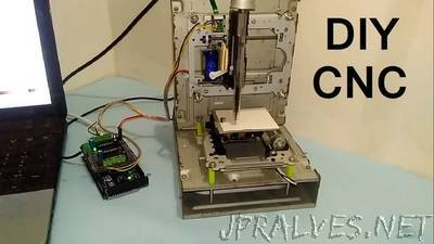 How to Make Arduino Based Mini CNC Plotter Using DVD Drive