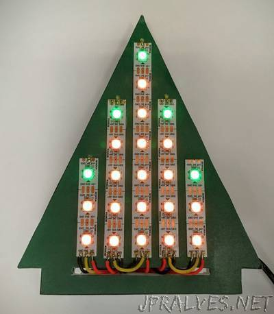 LED Holiday Tree With Shared Internet Control