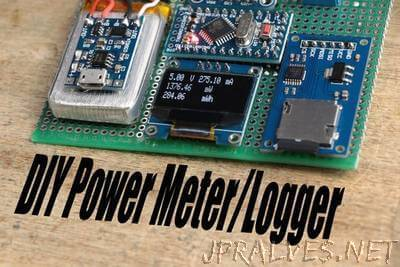 Make Your Own Power Meter/Logger