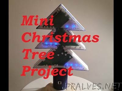 Mini Christmas Tree with LEDs and Sound
