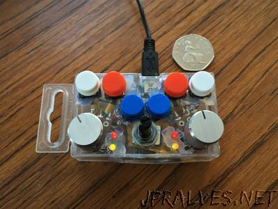 Very Small Arduino DJ Controller