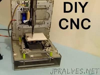 Arduino Based Mini CNC 2D Plotter