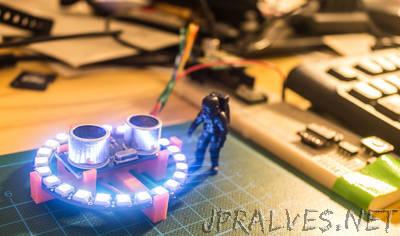 NeoPixel 24 & HC-RS04 Sonar Support
