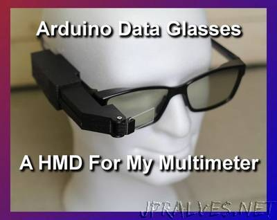 Arduino Data Glasses for My Multimeter
