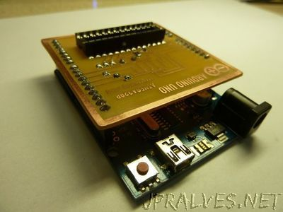 ATMEGA328 Bootloader Programming Shield for Arduino Uno