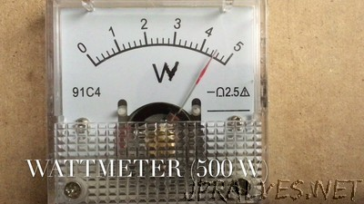 DIY Wattmeter using Arduino Uno