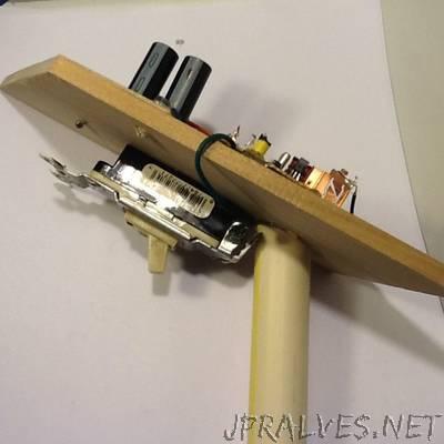 Camera Capacitor Coil Gun