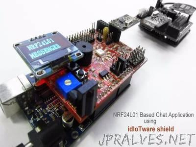Chat Application Using Mesh Radios