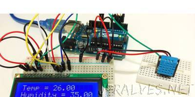 Arduino DHT22 Temperature and Humidity Sensor Tutorial