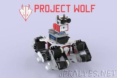 Wolf : IoT Multi-Terrain Quadruped