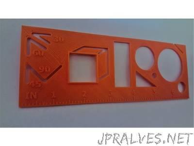 Customizable Stencil Ruler