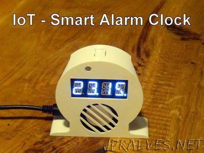 IoT Smart Alarm Clock (Open Source Project)