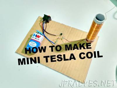 How to make a Miniature Tesla coil