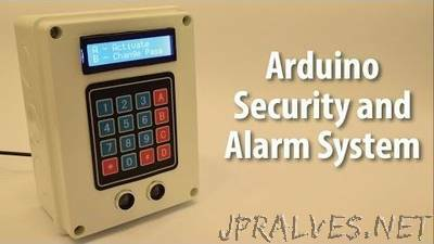 Arduino Security and Alarm System Project
