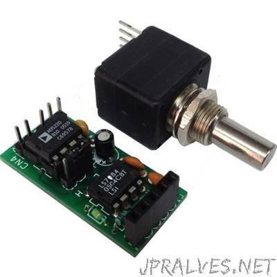Digital Potentiometer using Optical Encoder – 10KOhms