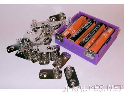 4 x AA Battery Holder