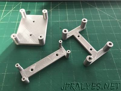 Parametric PCB Mounting Bracket/Stand Off