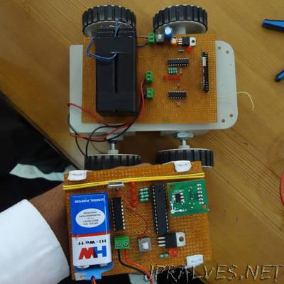 Gesture Control Robot